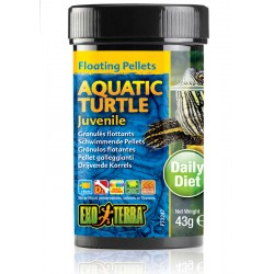 Aquatic Turtle Floating Pellets - Juvenile - 1.5 oz (Exo Terra)