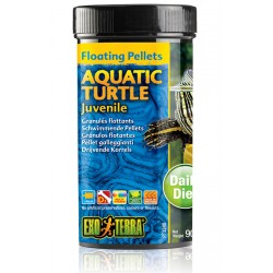 Aquatic Turtle Floating Pellets - Juvenile - 3.1 oz (Exo Terra)