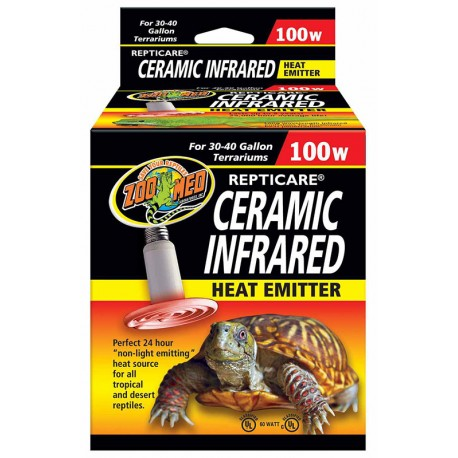 Ceramic Infrared Heat Emitter - 100w (Zoo Med)