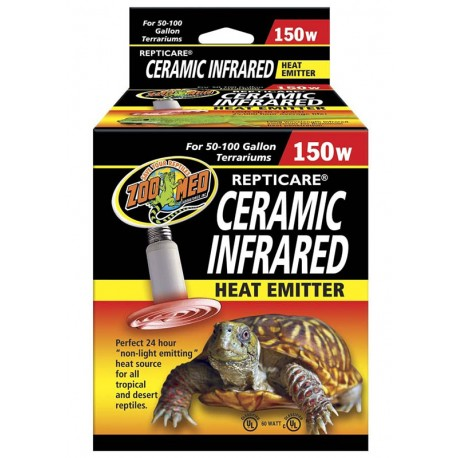 Ceramic Infrared Heat Emitter - 150w (Zoo Med)
