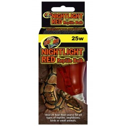 Nightlight Red Reptile Bulb - 25w (Zoo Med)