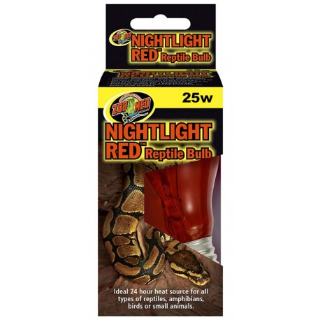 Nightlight Red Reptile Bulb - 25w (Zoo Med)