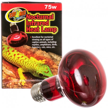 Nocturnal Infrared Heat Lamp - 75w (Zoo Med)