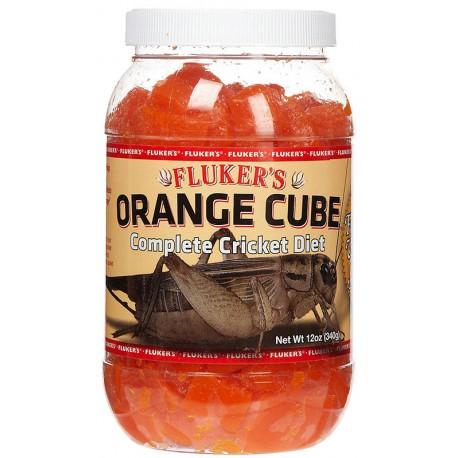Orange Cube - 12 oz (Fluker's)