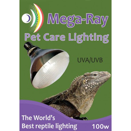 Mega-Ray - 100w (Reptile UV)