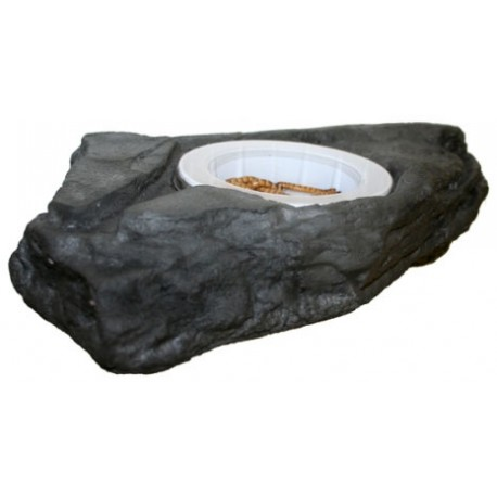 Worm Feeder Ledge - Granite - LG (Pet-Tekk)