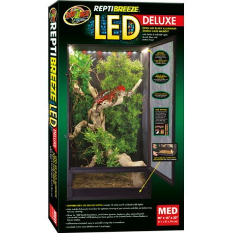 Wholesale Zoo Med Reptibreeze Led Deluxe