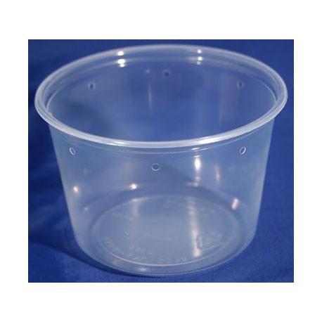 24 oz Semi-Clear Deli Cups - Punched - 500ct (Pro-Kal)