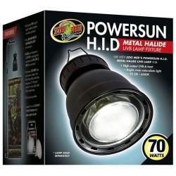 PowerSun H.I.D. Metal Halide UVB Lamp Fixture