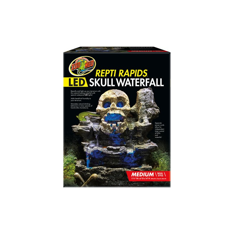 Wholesale Zoo Med Repti Rapids Led Skull Waterfall