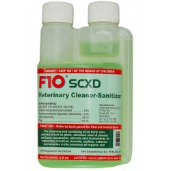 F10SCXD Veterinary Cleaner-Sanitizer - 6.8oz (200ml)
