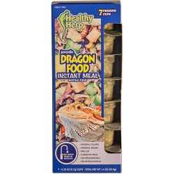 Dragon Food - Juvenile - Instant Meal - 7 Cup Pack (Healthy Herp)