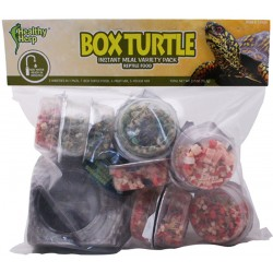 Box Turtle Food - Instant Meal - Variety Pack (Healthy Herp)