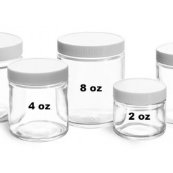 Glass Specimen Jar (2 oz)