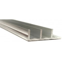 Sliding Glass Door Track - Silver - Bottom