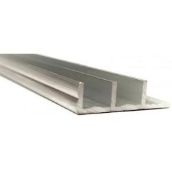 Sliding Glass Door Track - Silver - Bottom