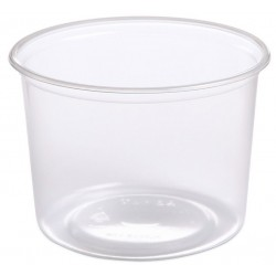 Hornworm Deli Cups - 16 oz - 100ct (Placon)