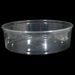 96 oz Clear Deli Cup - Punched (PWP)