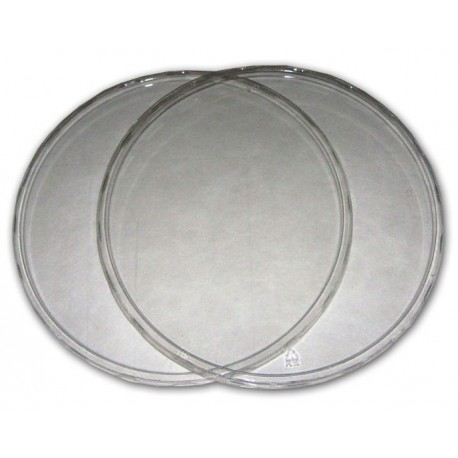 """Clear Deli Cup Lids - 9.75"""" (PWP)"""