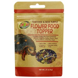 Flower Food Topper - Tortoise & Box Turtle - .21 oz (Zoo Med)