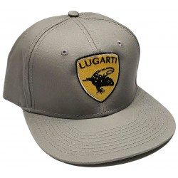 Lugarti Hat - Croc Monitor - Silver (Snap Back)