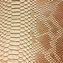 Faux Leather Snakeskin - Natural (RSC)