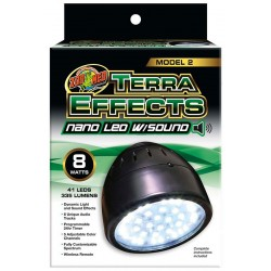 Terra Effects Nano LED w/ Sound (Zoo Med)
