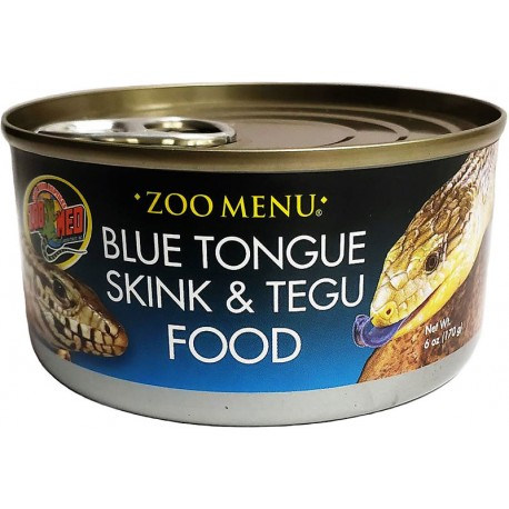 Blue Tongue Skink & Tegu Food - Can (Zoo Med)