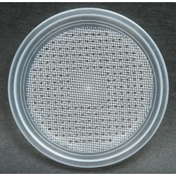"4.5"" Deli Cup Lids - Wire Screen Waffle - 100ct (Pro-Kal)"