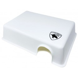 Reptile Hide Box - White - LG (Lugarti)