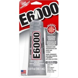 E6000 - Clear - 2 oz (Eclectic Products)