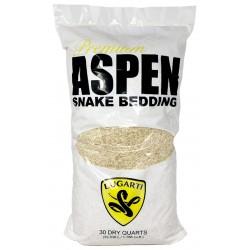 Premium Aspen Snake Bedding - 30 qt (Lugarti)