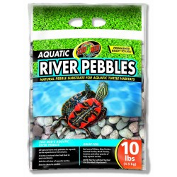 Aquatic River Pebbles - 10 lbs (Zoo Med)