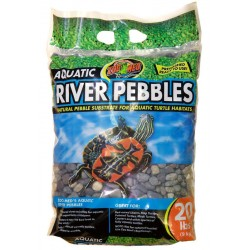 Aquatic River Pebbles - 20 lbs (Zoo Med)