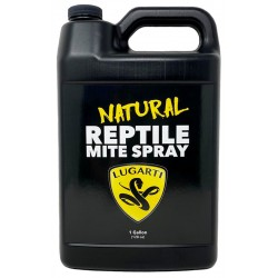 Natural Reptile Mite Spray - 1 Gal (Lugarti)