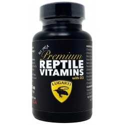 Ultra Premium Reptile Vitamins - with D3 (Lugarti)