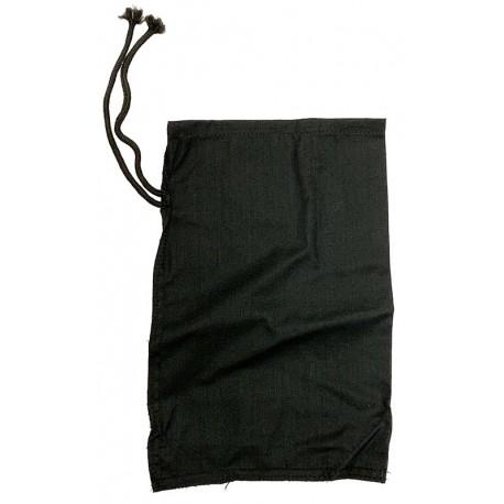 "Cloth Reptile Bags - Sewn Corners - Black (15"" x 24"")"