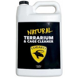 Natural Terrarium & Cage Cleaner - 1 Gallon (Lugarti)