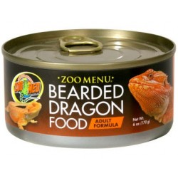 Bearded Dragon Food - Adult - 6 oz Can (Zoo Med)