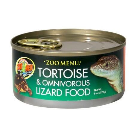 Tortoise & Omnivorous Lizard Food - 6 oz Can (Zoo Med)