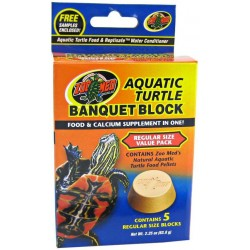 Aquatic Turtle Banquet Block - Regular - 5 pk (Zoo Med)