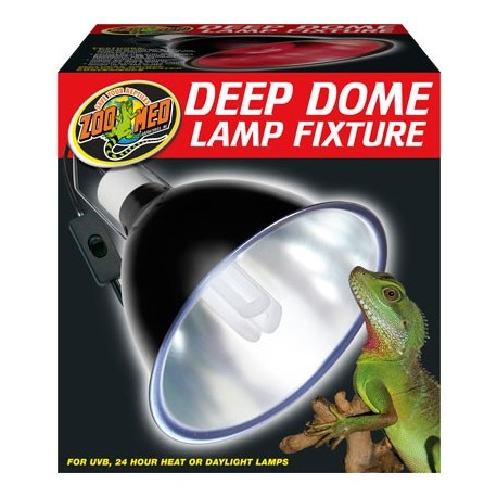 Deep Dome Lamp Fixture (Zoo Med)